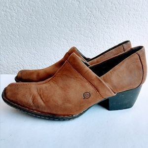 Born Heeled Loafers Size 9.5